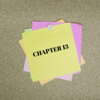 Post-it that reads Chapter 13